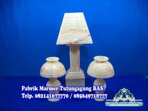Jual Kap Lampu Onix, Souvenir Marmer