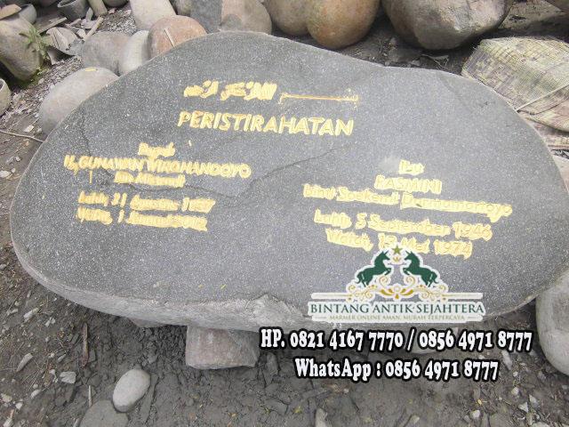 Makam Batu Dompalan | Jual Makam Dompalan Batu Alam