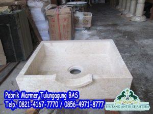 Wastafel Kotak Marmer