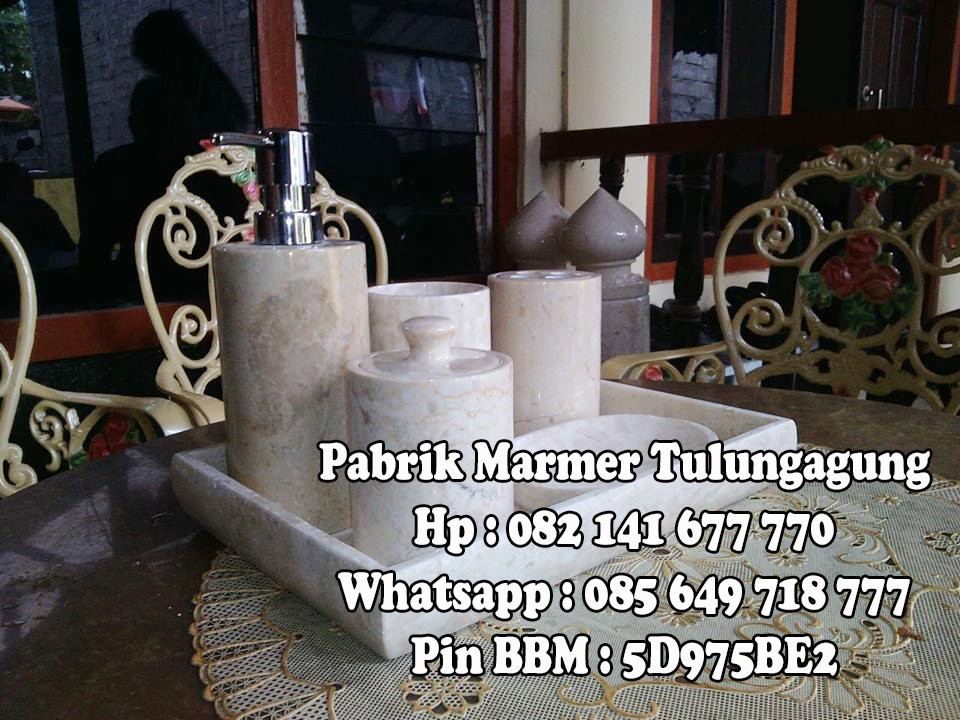 Bathroom Set Marmer | Tempat Sabun Set Marmer