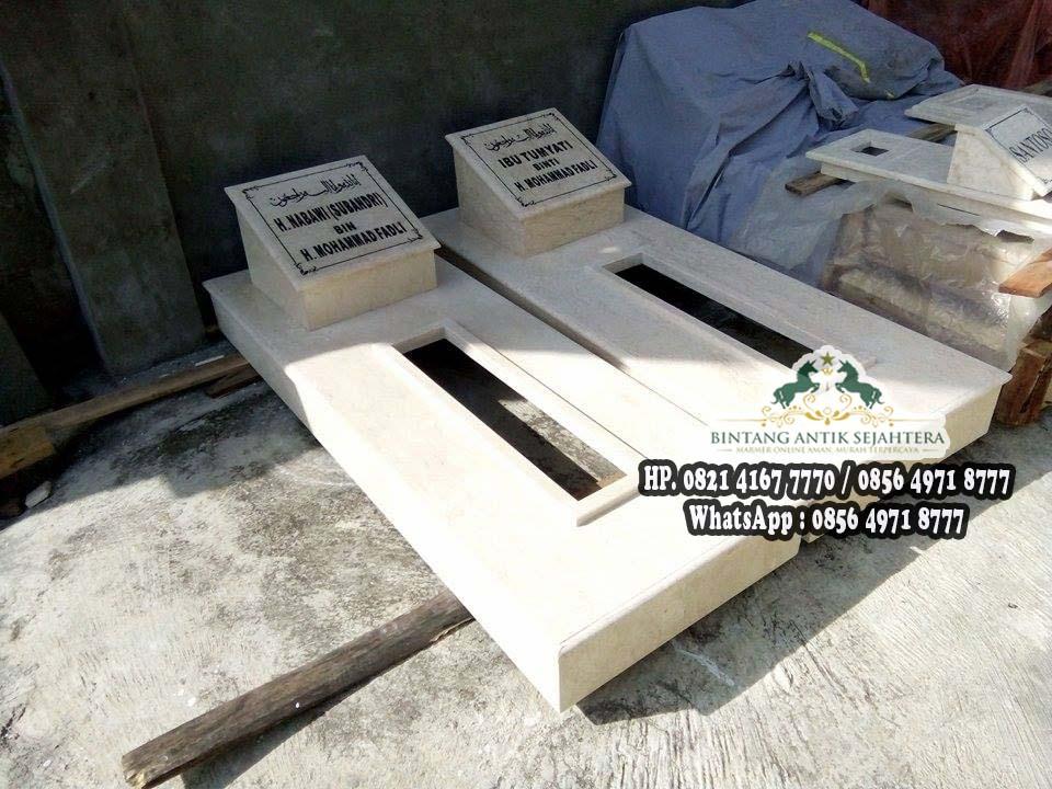 Jual Makam Marmer, Makam Marmer, Daftar Harga Batu Nisan