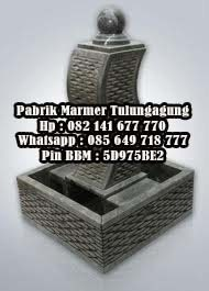 Air Mancur Marmer - Pabrik Marmer Tulungagung