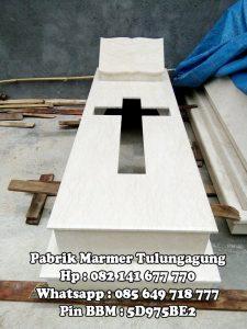 Makam Marmer Kristen Trap 2 - Pabrik Marmer Tulungagung