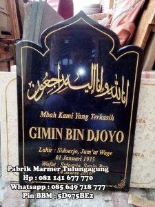 Nisan Buku Granit Islam - Pabrik Marmer Tulungagung