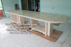 Meja Meeting Marmer - Pabrik Marmer Tulungagung