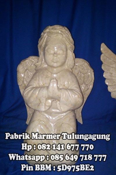 Patung Malaikat Marmer