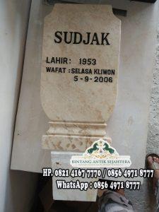 Harga Batu Nisan Kuburan, Batu Nisan Taman Makam Pahlawan