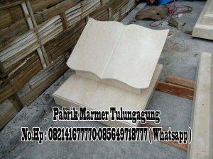 Nisan Buku Marmer || Pabrik Marmer