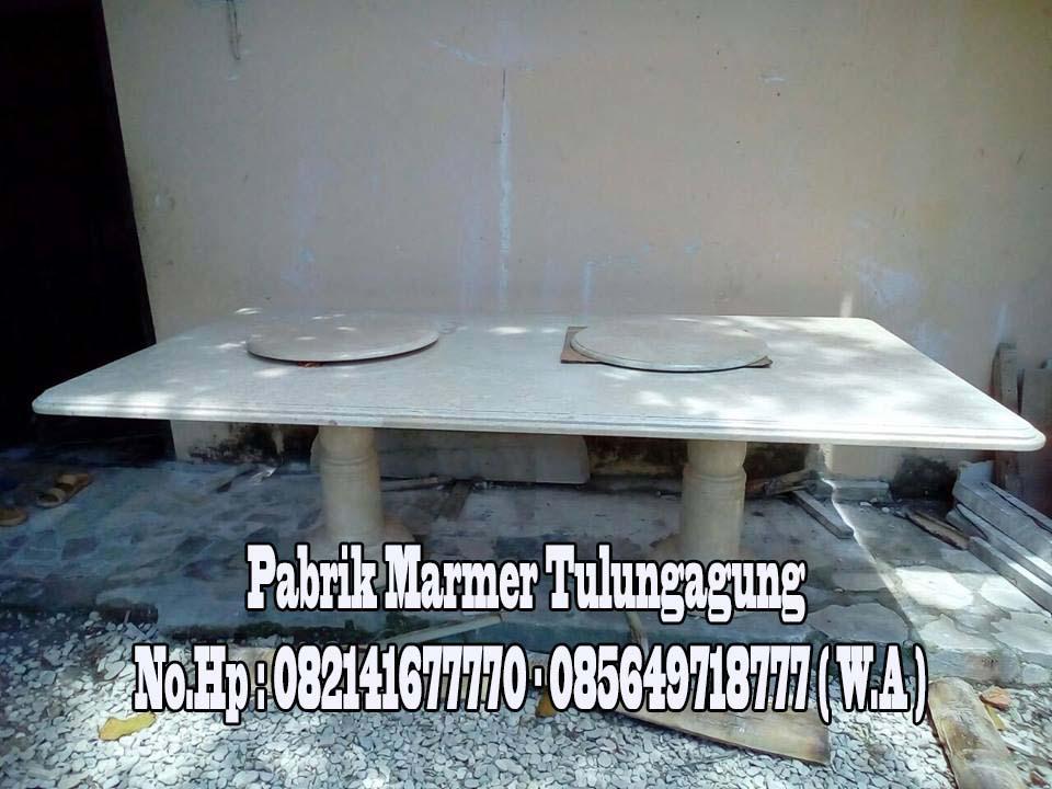 Meja Dapur Marmer Besar