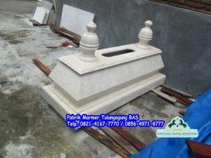 Makam Bokoran Marmer, kijing makam marmer