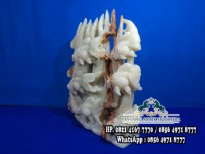 Patung Ikan batu Onyx