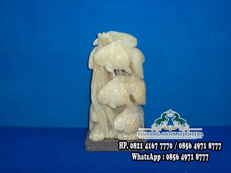 Patung Ikan Mas | Jual Patung Marmer dan Onyx