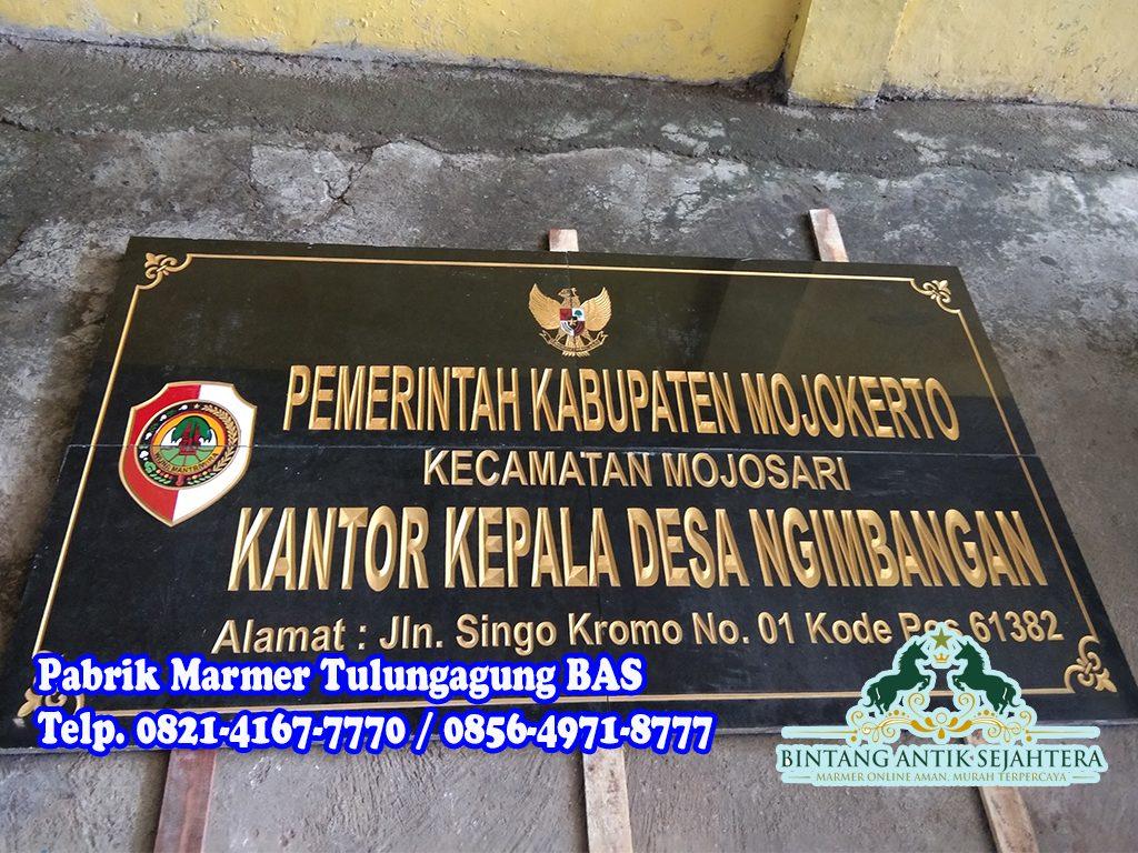Papan Nama Granit | Jual Prasasti Granit di Jakarta