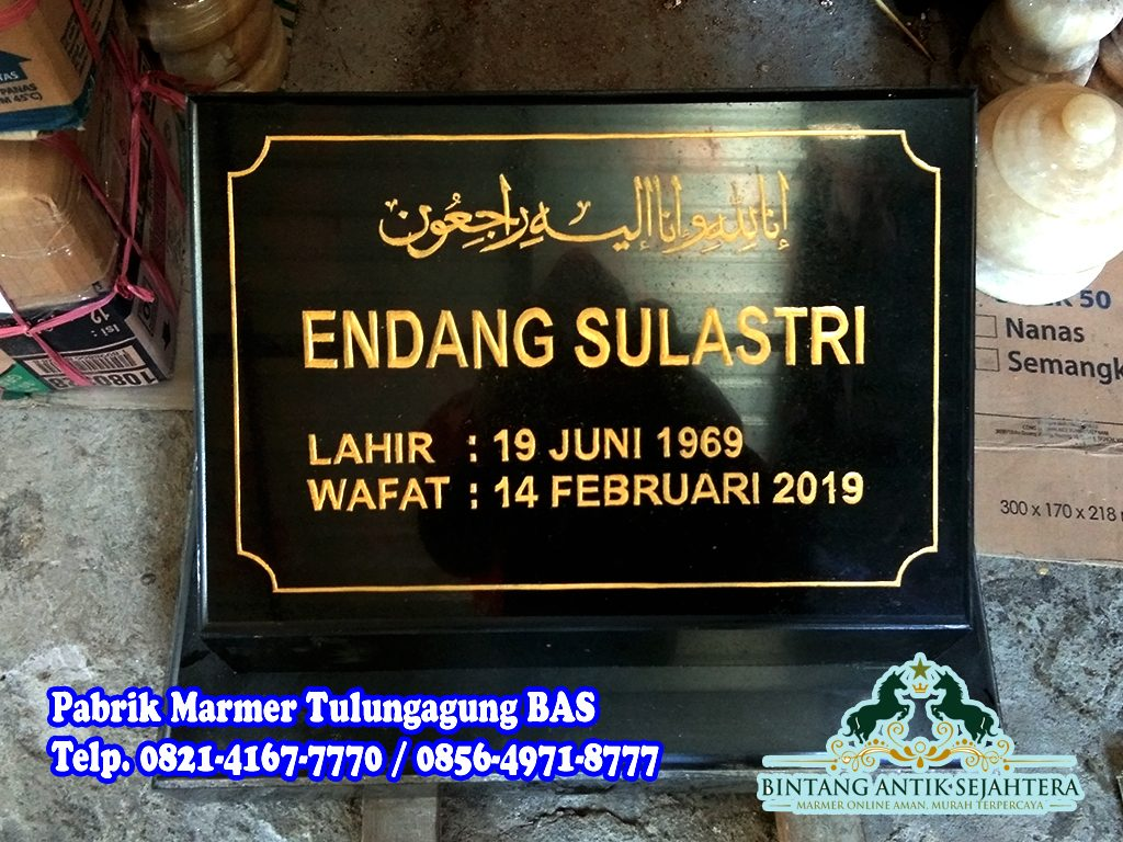 Batu Nisan Granit Hitam | Harga Batu Nisan di Jakarta