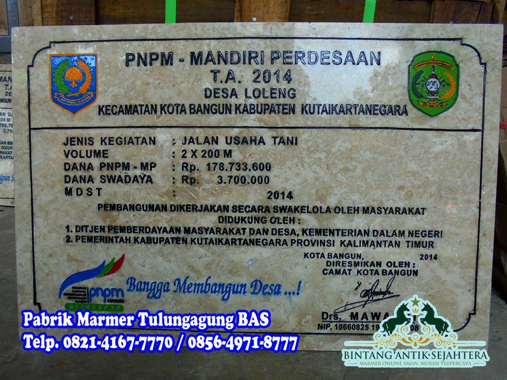 Daftar Harga Prasasti Marmer | Prasasti Marmer Surabaya