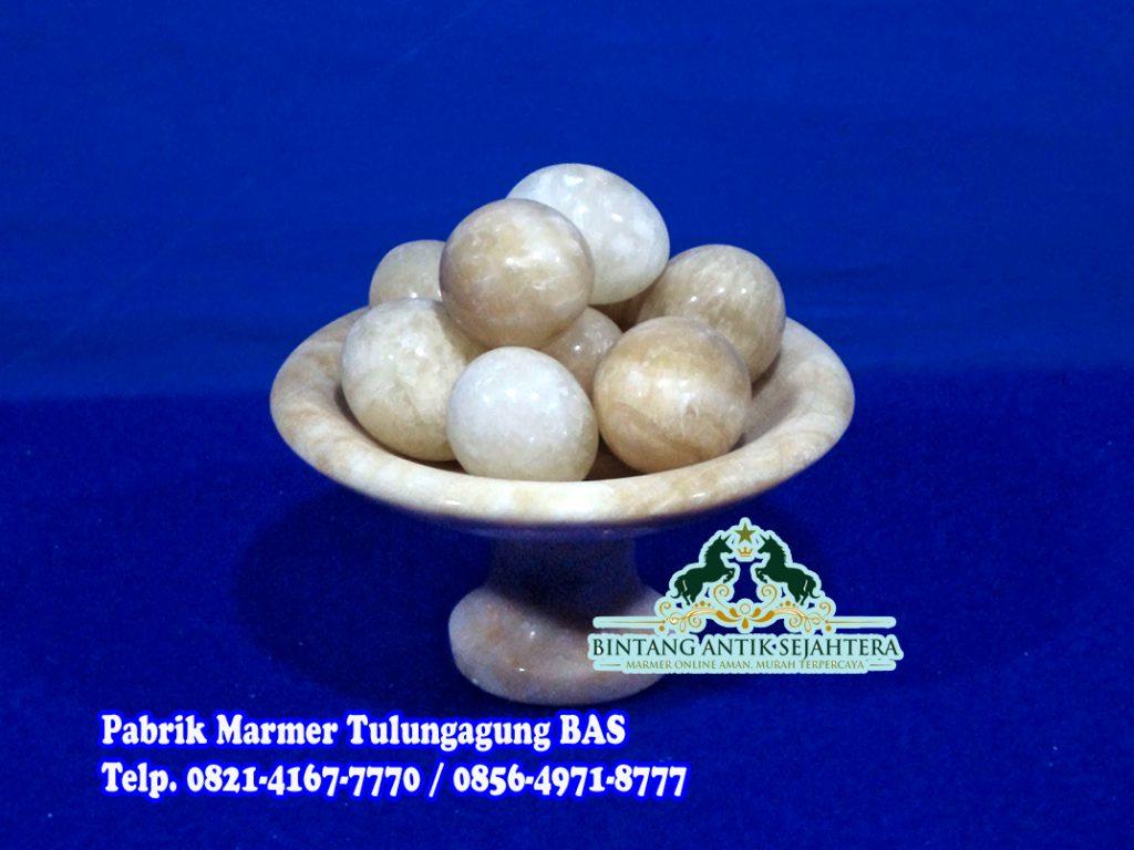 Souvenir Telur Set Marmer | Kerajinan Telur Onyx