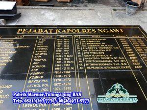 Harga Papan Nama Granit | Prasasti Batu Granit