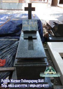 Kijing Makam Granit | Makam Kristen Granit Modern
