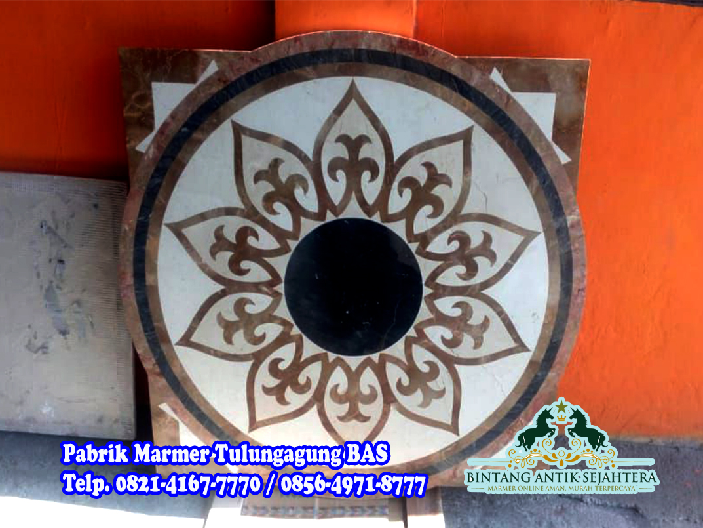 Motif Marmer Border Inlay | Marmer Motif Batu Alam