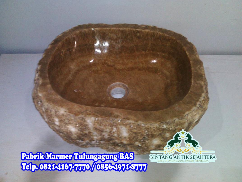 Wastafel Batu Onyx | Wastafel Kamar Mandi Mewah