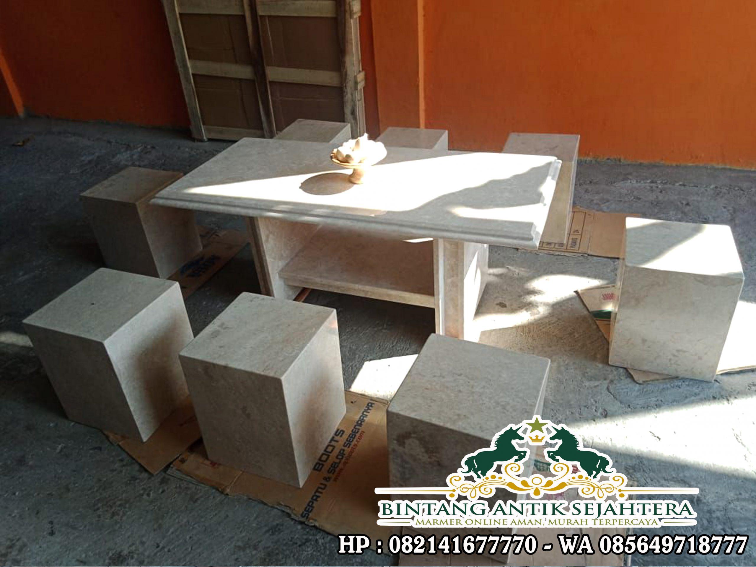 Harga Meja Marmer Persegi   Meja dan Kursi Tamu Marmer