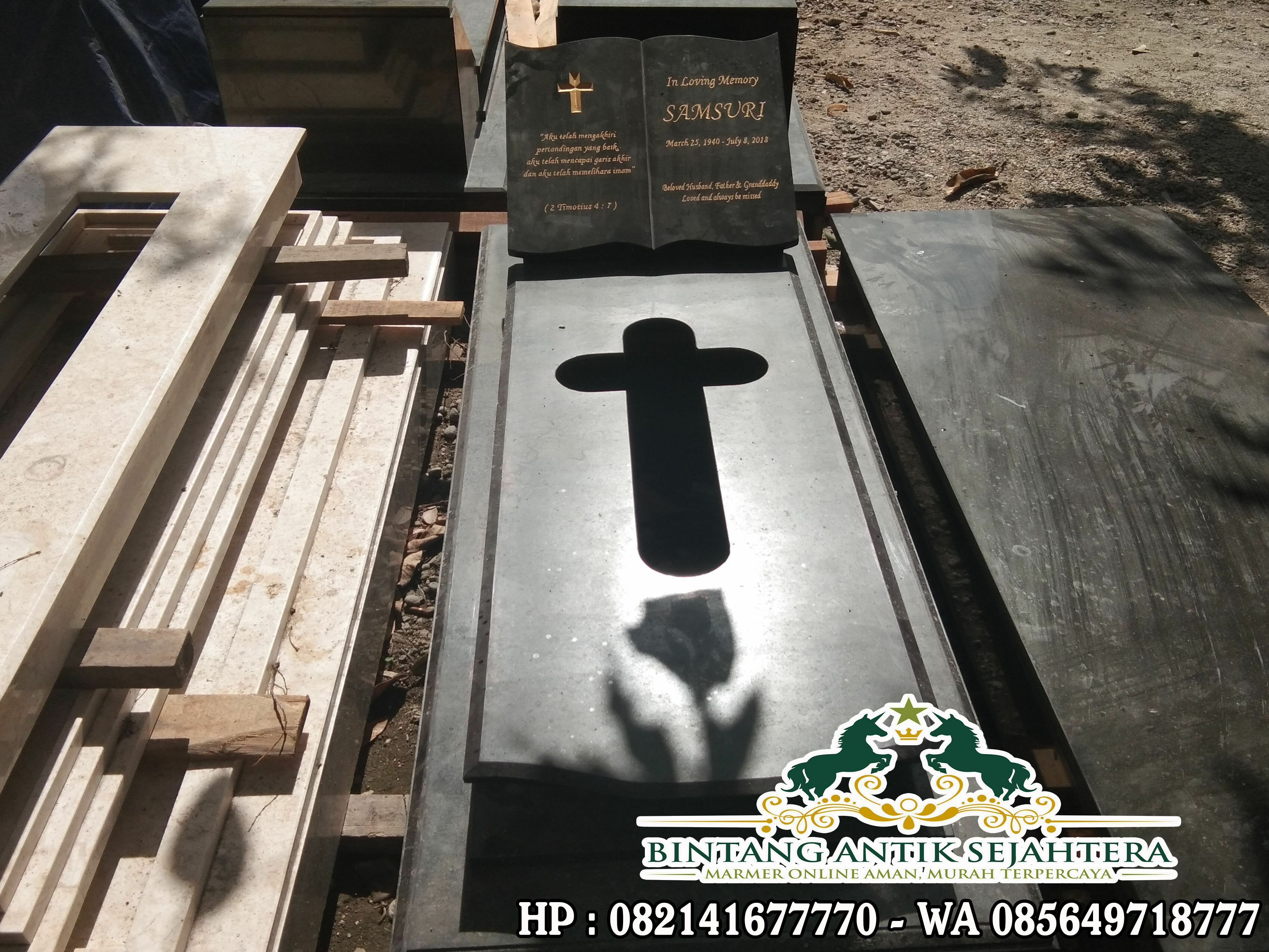 Model Kuburan Kristen Sederhana | Makam Granit Kristen