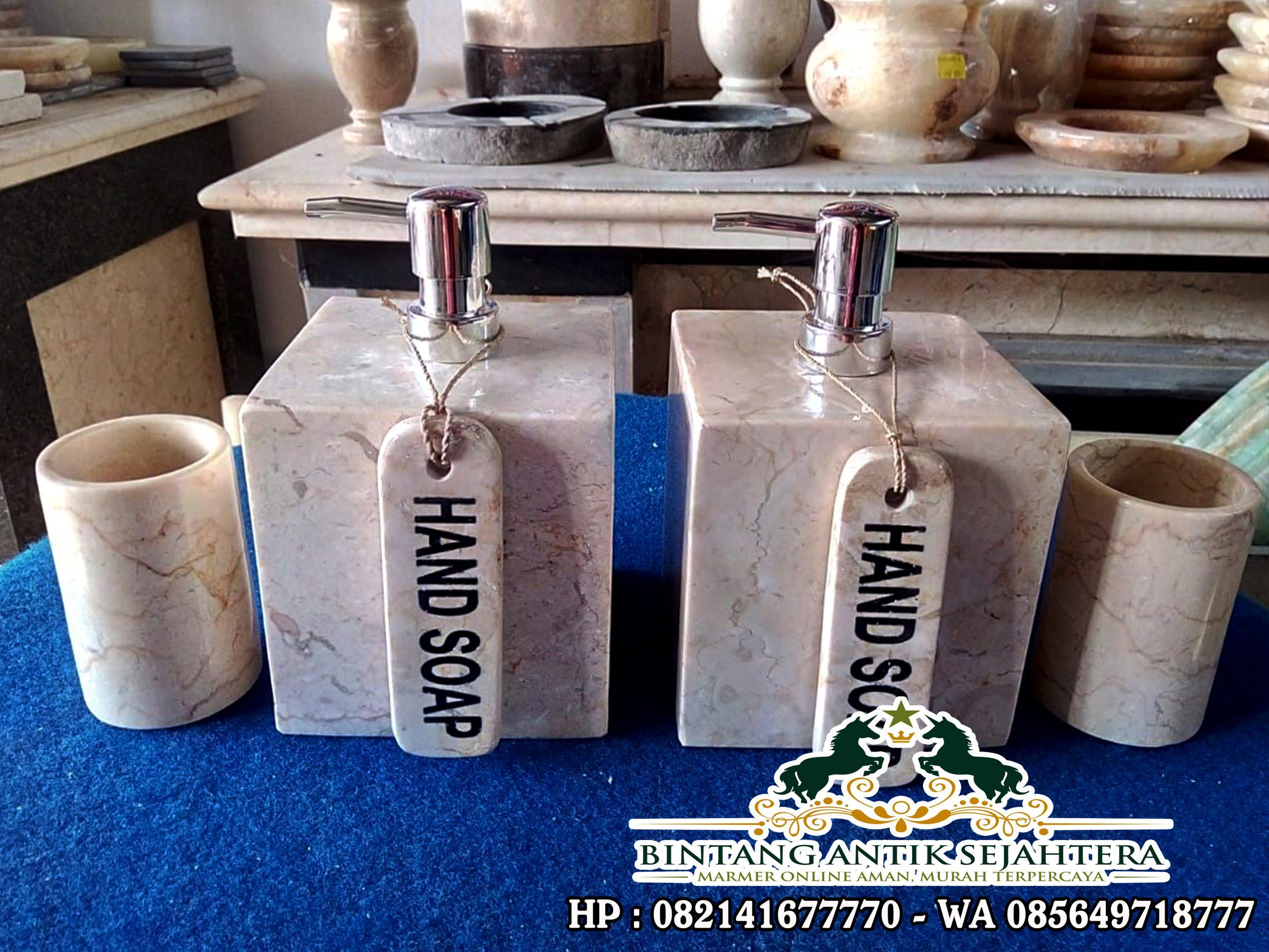 Tempat Sabun Cair Marmer | Kerajinan Marmer Tulungagung