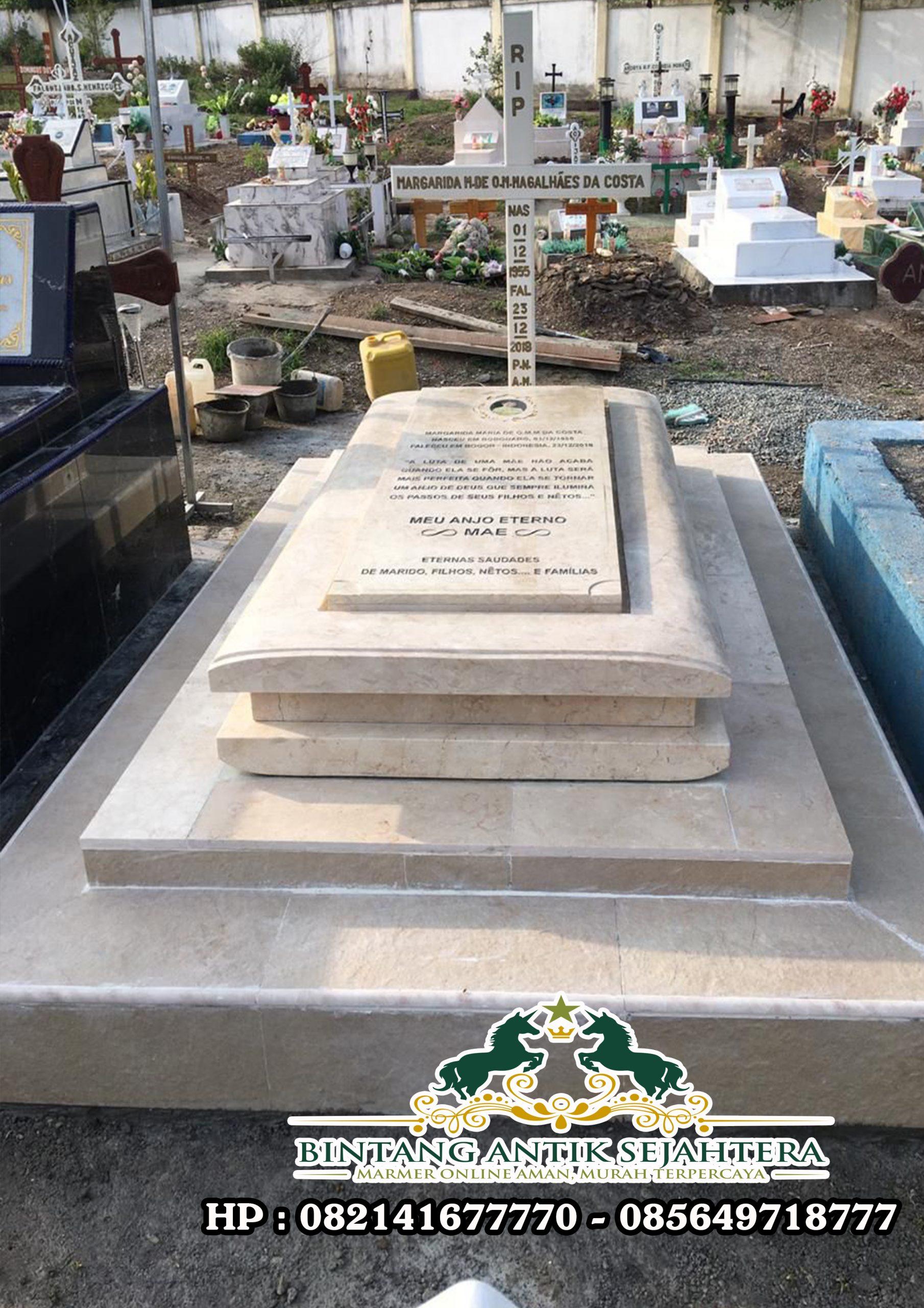 Model Makam Kristen Terbaru | Kuburan Kristen Marmer Mewah