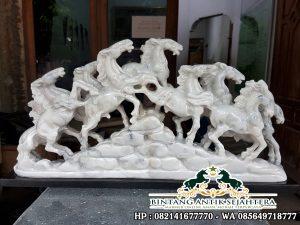 Jual Patung Kuda Putih