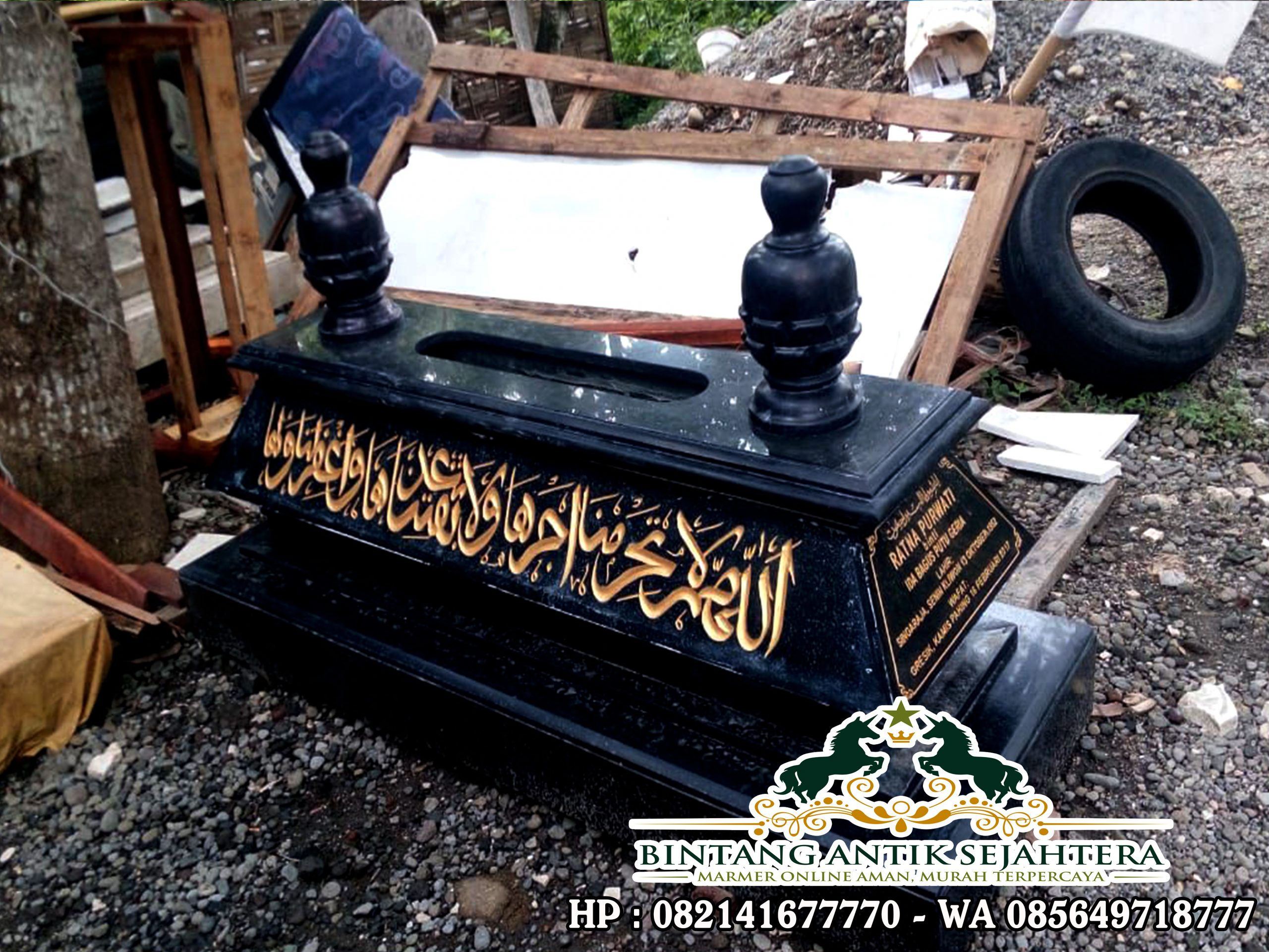 Harga Kijing Kuburan Granit | Jual Kijing Islam Granit