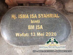 Nisan Batu Kali | Nisan Tombstone Batu Alam