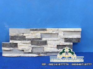 Motif Wall Cladding Batu Alam