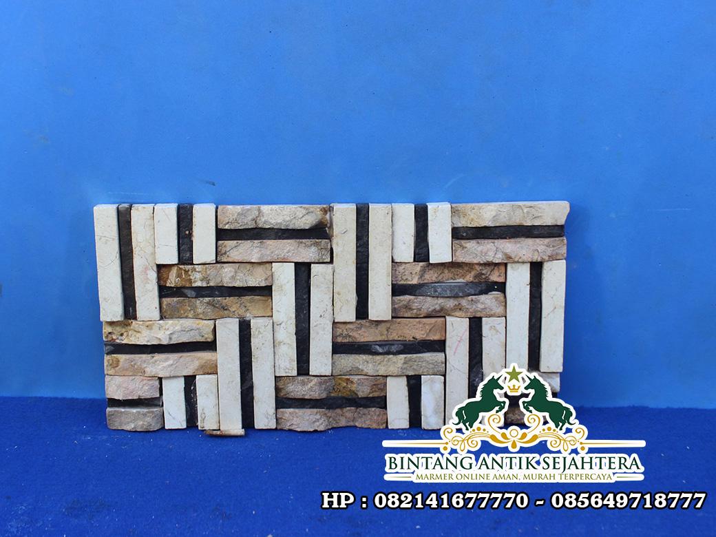 Wall Cladding Batu Alam | Wall Cladding Kombinasi Batu