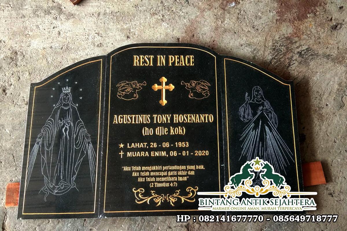 Nisan Bongpay Granit | Contoh Bongpay Kristen Granit