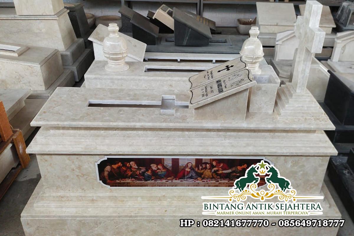 Makam Kristen Marmer | Model Makam Kristen Terbaru