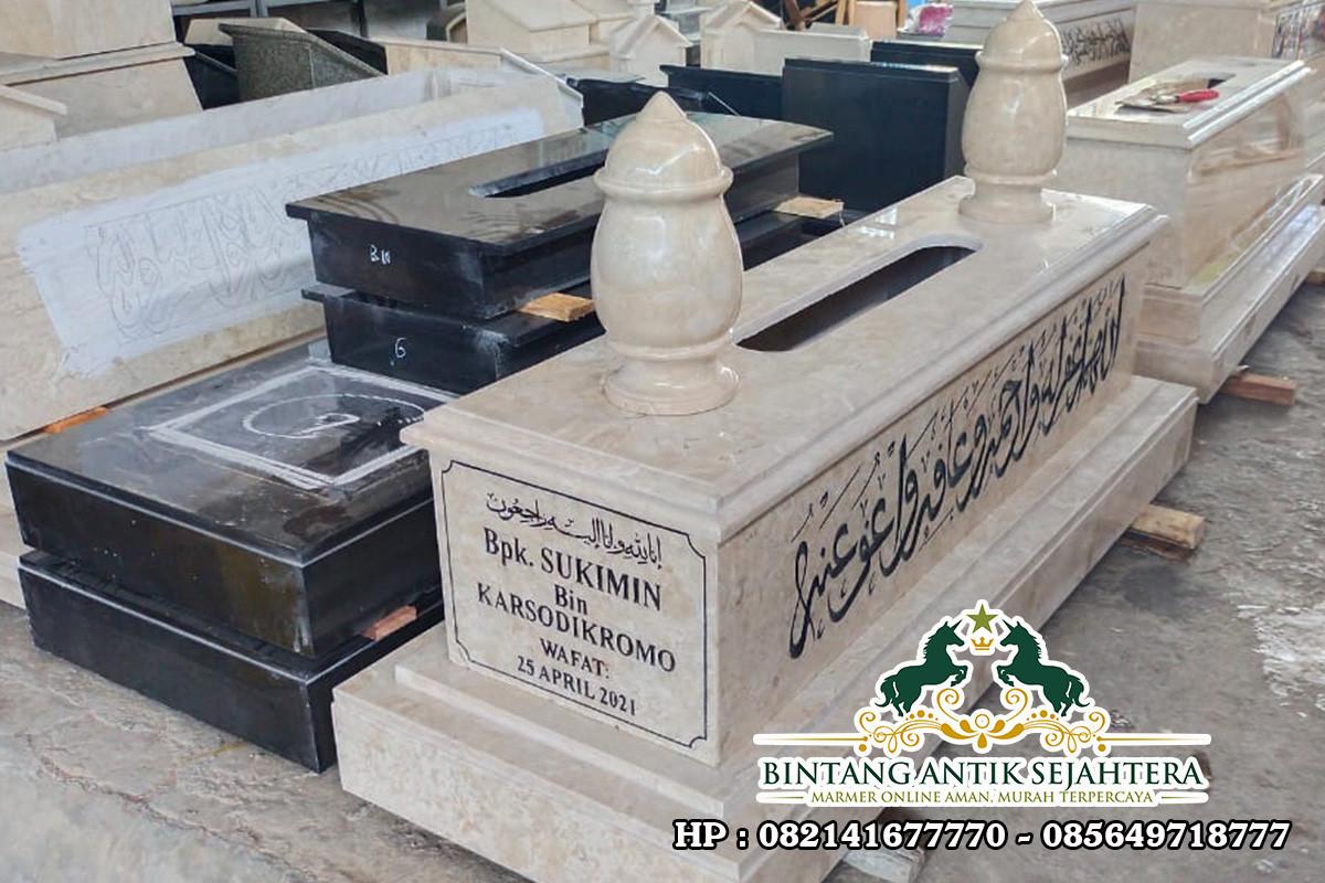 Harga Kijing Marmer Islam | Makam Model Mataram Marmer